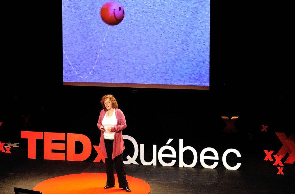 Captation «La mort n'est pas contagieuse» au TedxQuébec